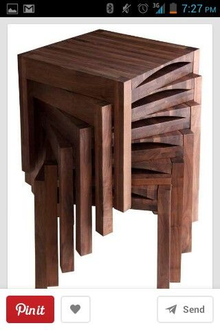 John Reeves Design Metamorphic Chair/stool/side Table   ABC Carpet U0026 Home
