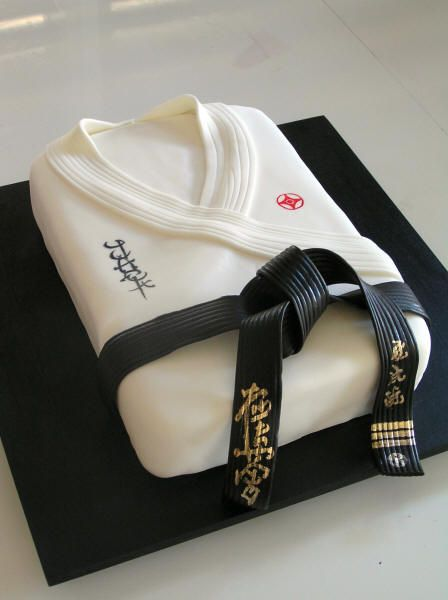 Karate themed - For all your cake decorating supplies, please visit craftcompany.co.uk
