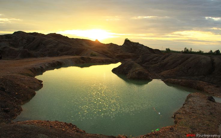 landscape - sungai ulin banjarbaru, indonesia