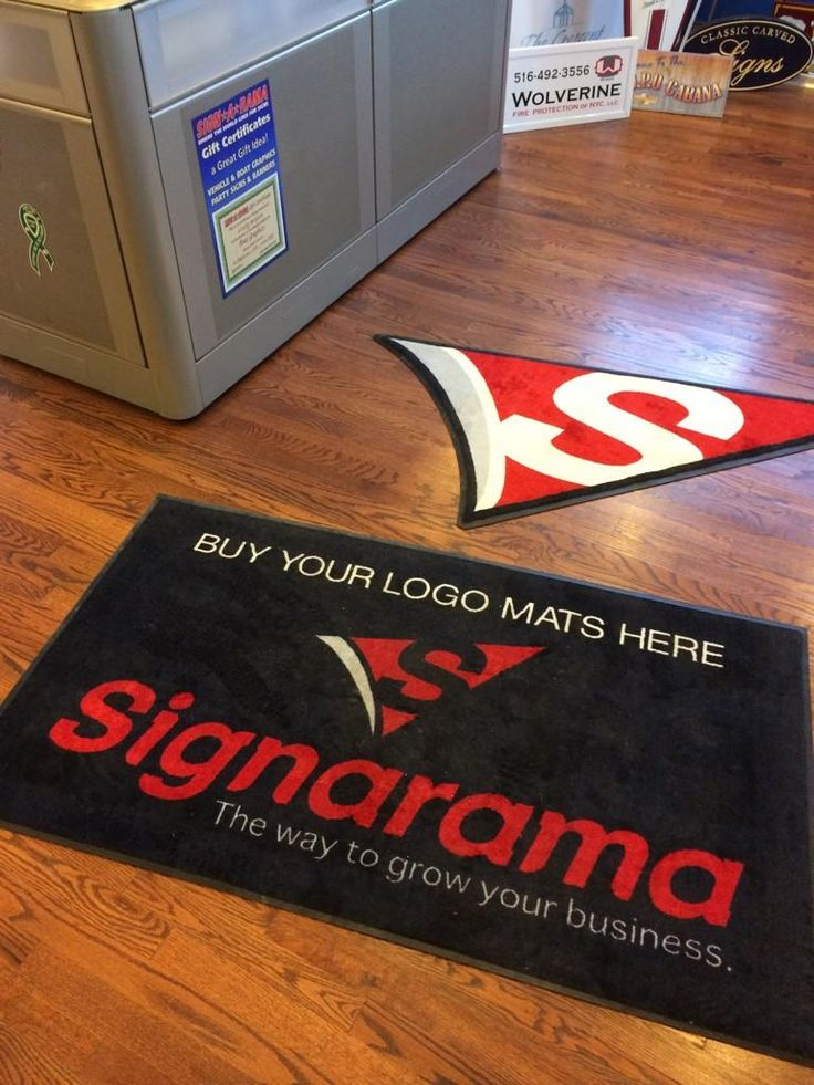 Love these fuzzy logo rugs. They definitely brighten up and entrance!  Order yours today at www.ssar.com