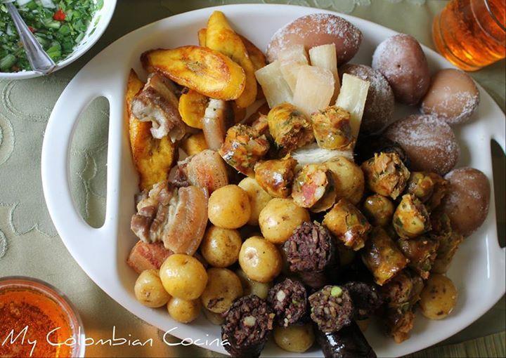 Picada o Fritanga. My Colombian Cocina.