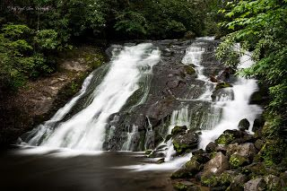 "Seeing Through God's Eyes: ""Indian Creek Falls"" in Bryson City, North Carolina"