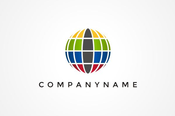 Rainbow Globe Logo