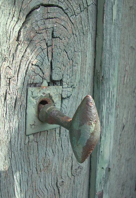 Door knob, Vaucresson, France
