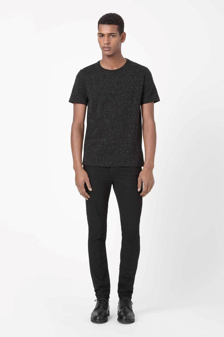 COS | Speckled melange t-shirt