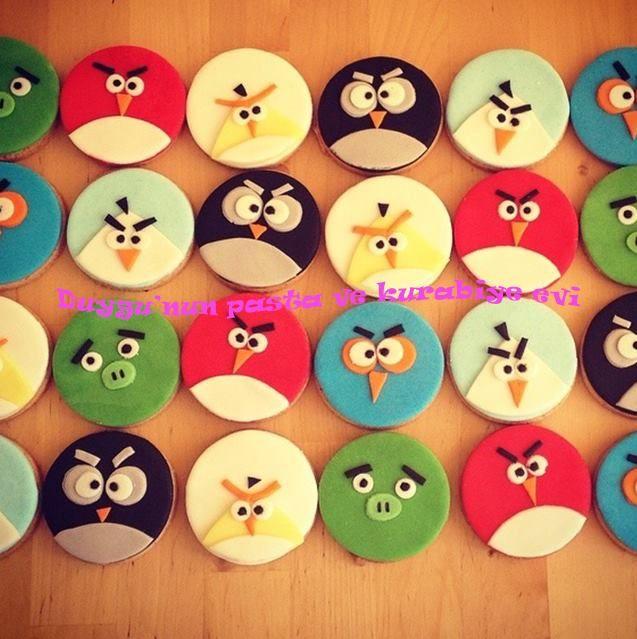Angry Birds Kurabiye