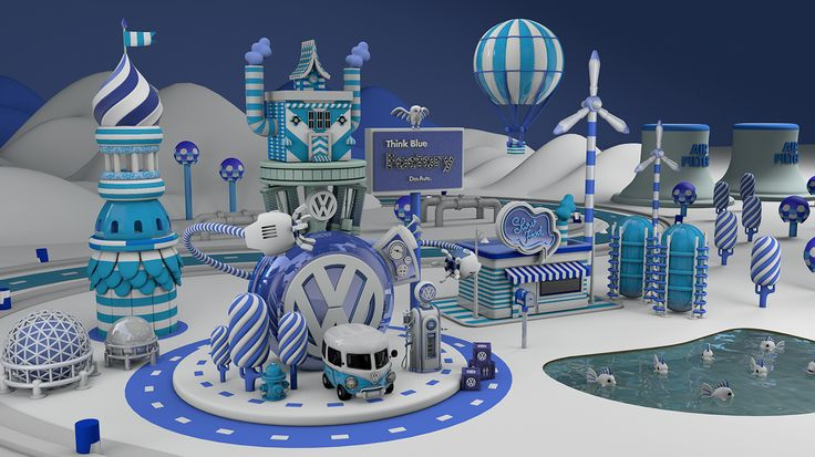 This is a personal work, developed to improve my own knowledge in 3D illustration, inspired on the internacional Think Blue campaign that involved many agencies and studios around the world.Este é um trabalho pessoal, desenvolvido para melhorar o meu pr…