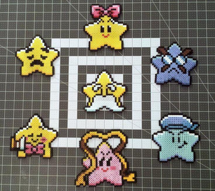 Paper Mario Star Spirit Perler Sprites by DogerCraft on DeviantArt