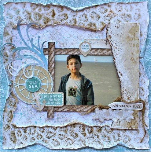 Kaisercraft Coastal Escape -  Take Me to the Sea LO by Cathy Cafun