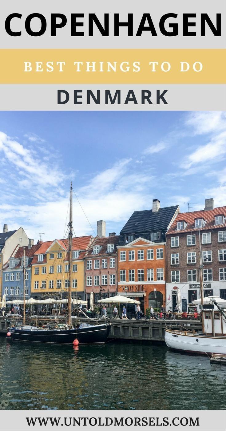 Copenhagen, Denmark. Best things to do in Copenhagen. Little Mermaid. Nyhavn. Rosenborg castle. Travel in Europe.