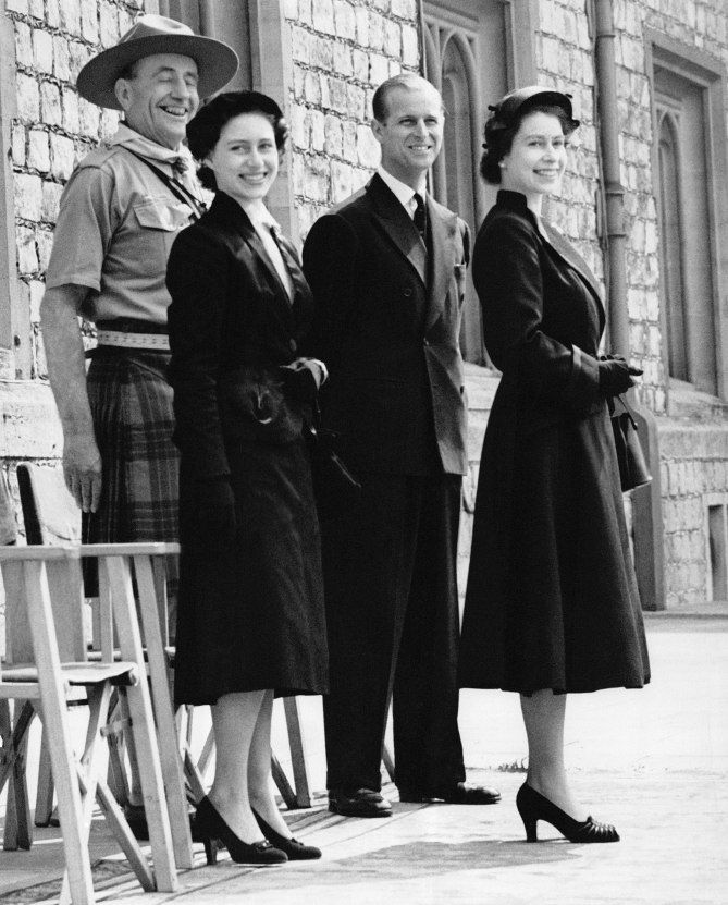 Queen Elizabeth and Princess Margaret Photos