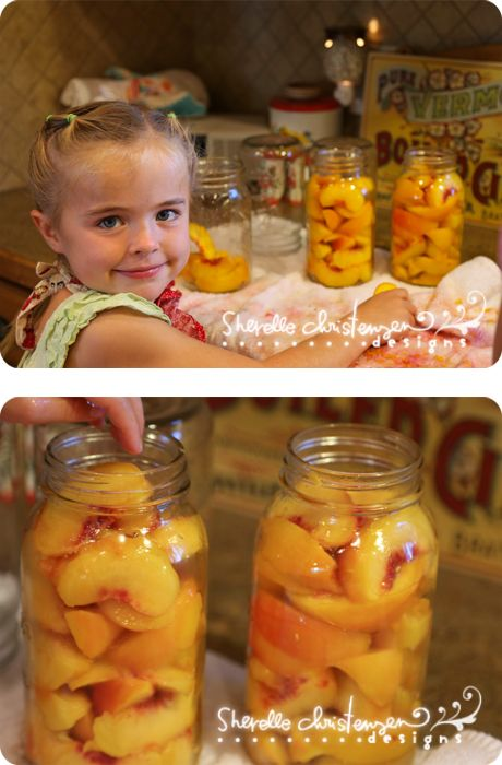 Canning Peaches, Nectarines & Plums (and a canned fruit cobbler recipe)