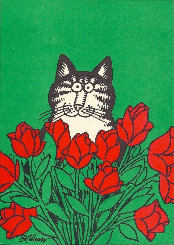 Vintage B. Kliban Cat Note Cards 1979  http://www.etsy.com/listing/70772914/vintage-b-kliban-cat-note-cards-1979?ref=pr_faveitems