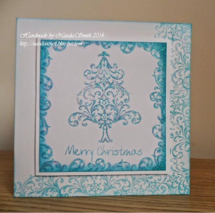 Nataliascraft : Christmas tree cards