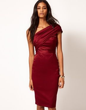 ASOS Cocktail Dress in Wiggle Shape