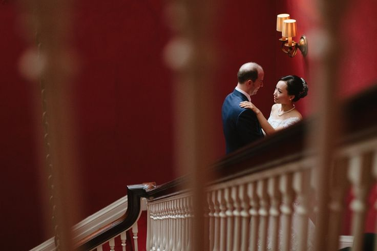 Amy and Paul wedding portraits at The Harvard Club New York City #HCNY