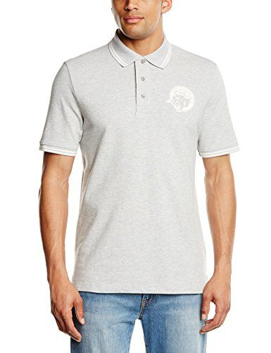 PUMA Herren T-Shirt Style Athletic Polo, Light Gray Heather, M, 832250 04