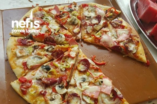 Karışık Pizza Hazırdan Daha Lezzetli