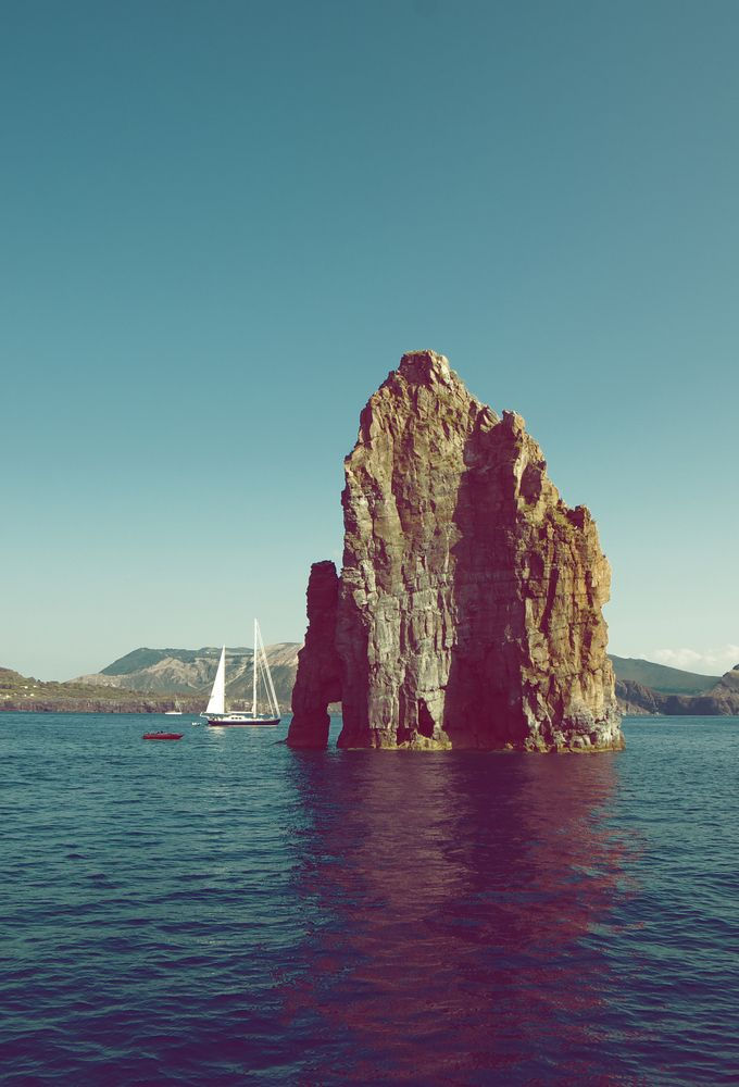 Le isole Eolie e Pantelleria, Lipari, Conbipel, estateitaliana