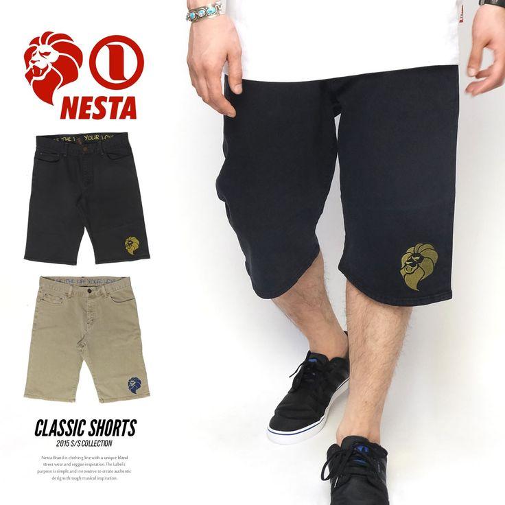 ネスタブランド NESTA BRAND ハーフパンツ メンズ ショート カラ :5v3217:DEEP B系・ストリートファッション - 通販 - Yahoo!ショッピング