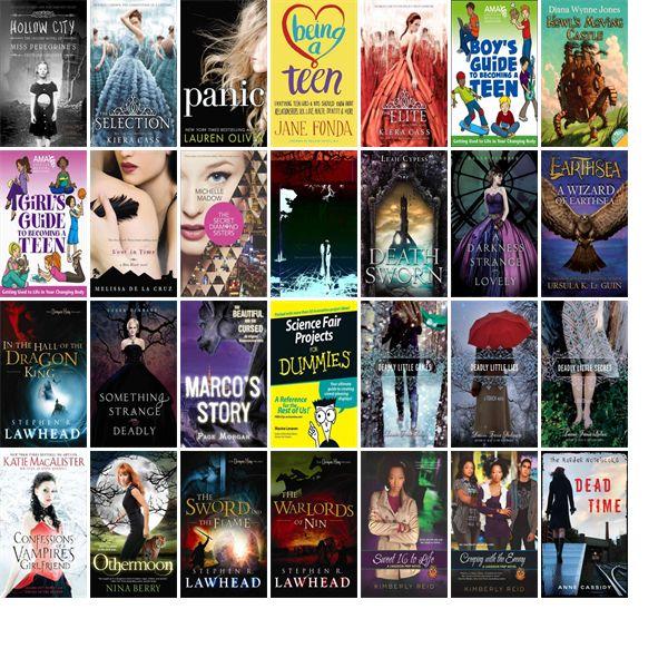 Bestsellers Teen Books 94