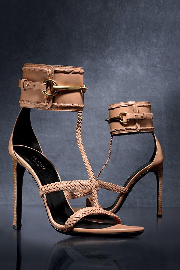 Gucci Strappy Sandals . . . #stilettos