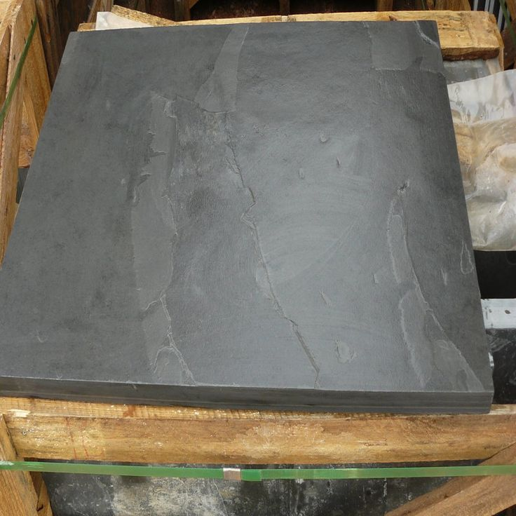 Brazilian Natural Stone : Mrs stone store brazilian black natural slate paving