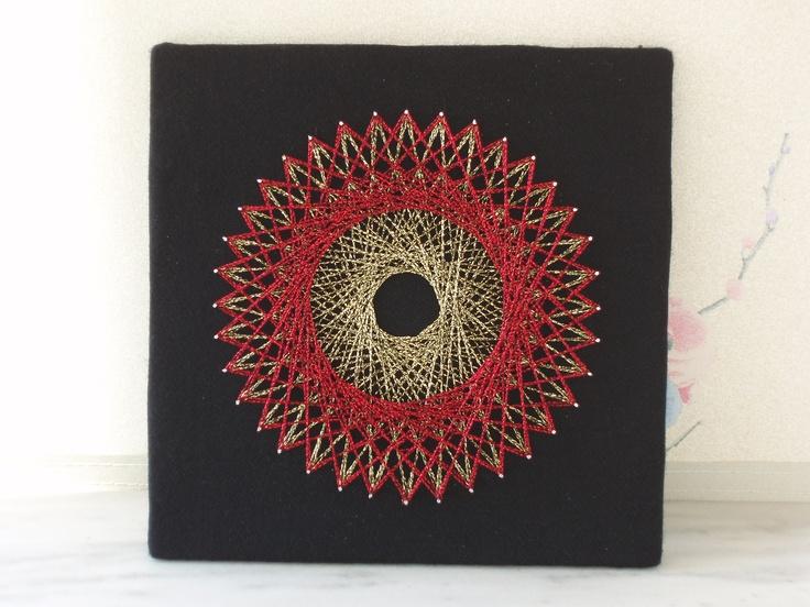 My thirteenth piece of string art