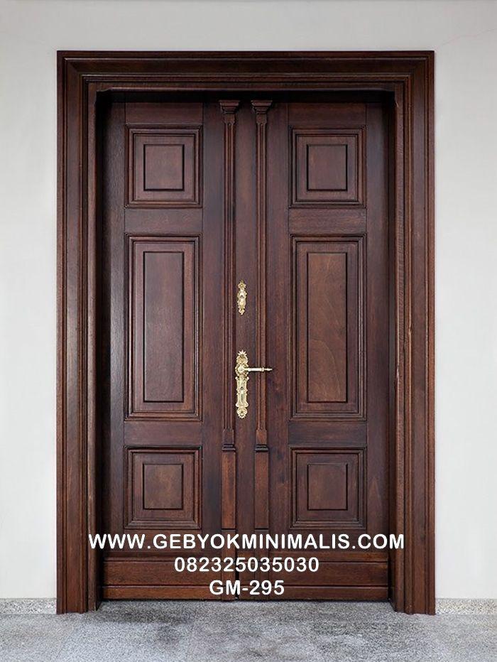 Pintu Utama Rumah Minimalis Modern di 2020   Minimalis ...