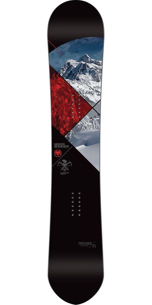 Never Summer Premier F1 Snowboard - 2014