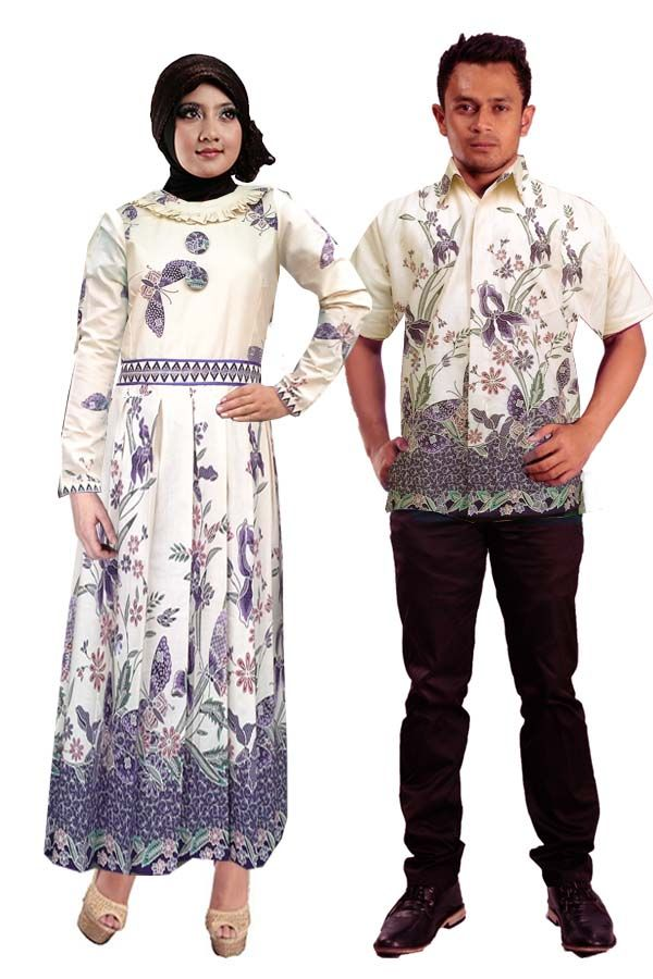 Batik Couple Gamis Ayana