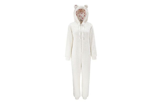 I want the pinky cololured one from instore!  Fluffy All In One - Women - Tu, Sainsburys Clothing At Sainsbury's