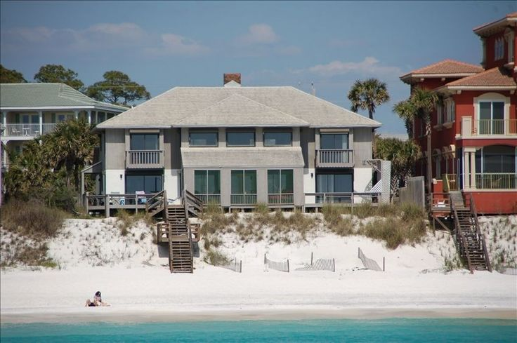 Blessings 30a gulf front large private pool close to