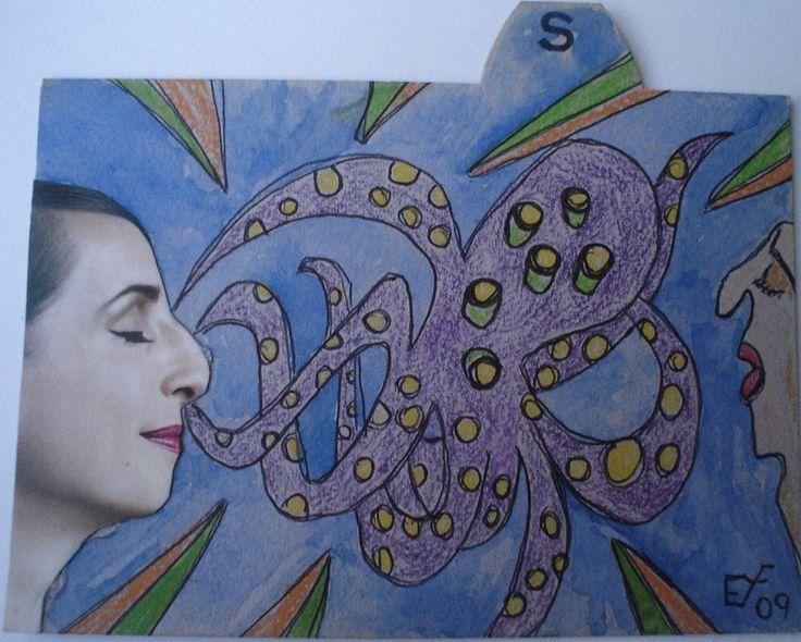 Meine eigene surrealistische Kunst: SKYZOPHRENIE. Verkauft   Zur Zeit meine Kunst auch auf ebay.de unter:  http://www.ebay.de/sch/i.html?_from=R40&_trksid=p2050601.m570.l1313.TR2.TRC1.A0.H0.XEYF-ART.TRS0&_nkw=EYF-ART&_sacat=0