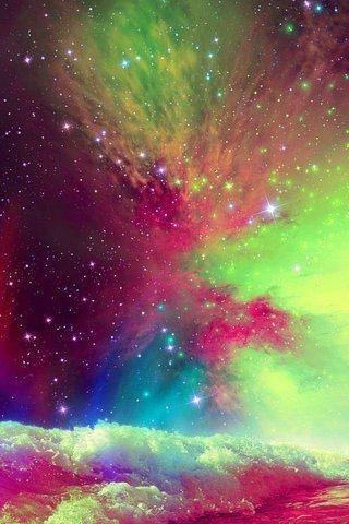 neon galaxy <3