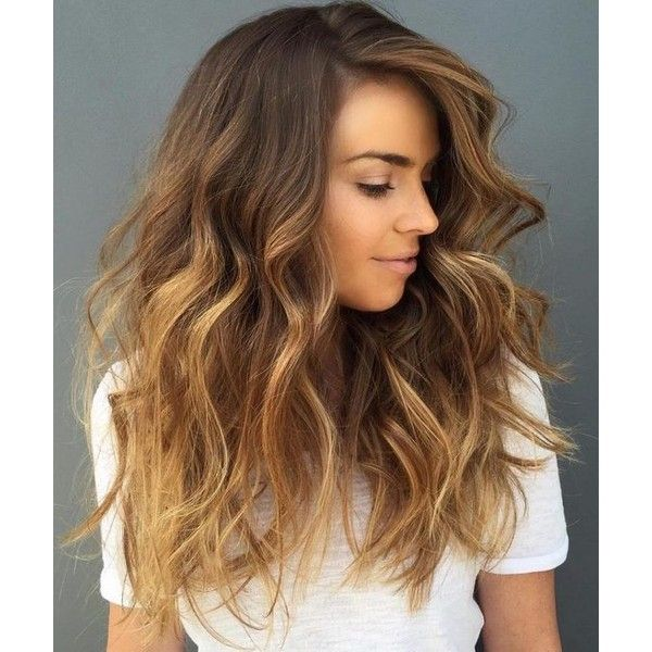 The 30 Hottest Brunette Best Balayage Highlights For Winter ❤ liked on Polyvore featuring accessories