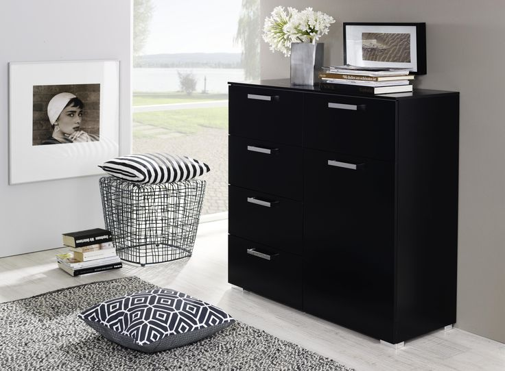 die besten 25 kommode schwarz ideen auf pinterest. Black Bedroom Furniture Sets. Home Design Ideas