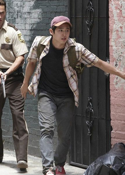 10 Images About Glenn Rhee Clothing On Pinterest