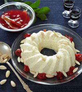 Skøn dessert fra det klassiske køkken