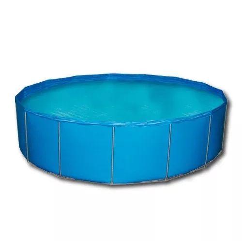 pileta redonda estructural lona 300 x 90 cm piscina piletin