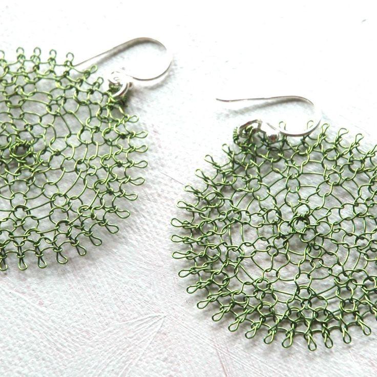 23 best Wire Crochet Jewelry images on Pinterest | Crochet, Wire ...
