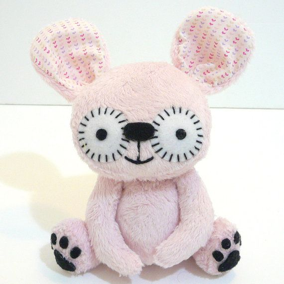 etsy Sleepy King | Mayberry the pink bunny by MonstersEtc on Etsy