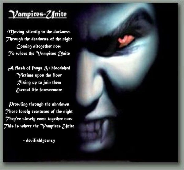vampire poems - Bing images | Vampire poems, | Pinterest ...