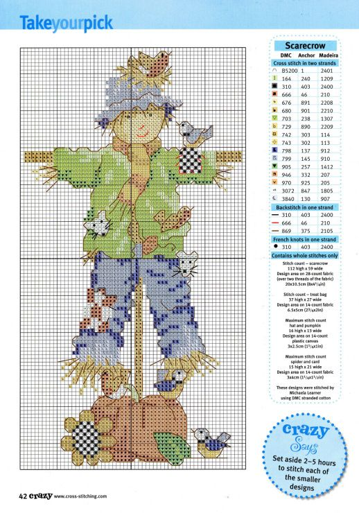 Gallery.ru / Фото #1 - Cross Stitch Crazy 090 октябрь 2006 - tymannost