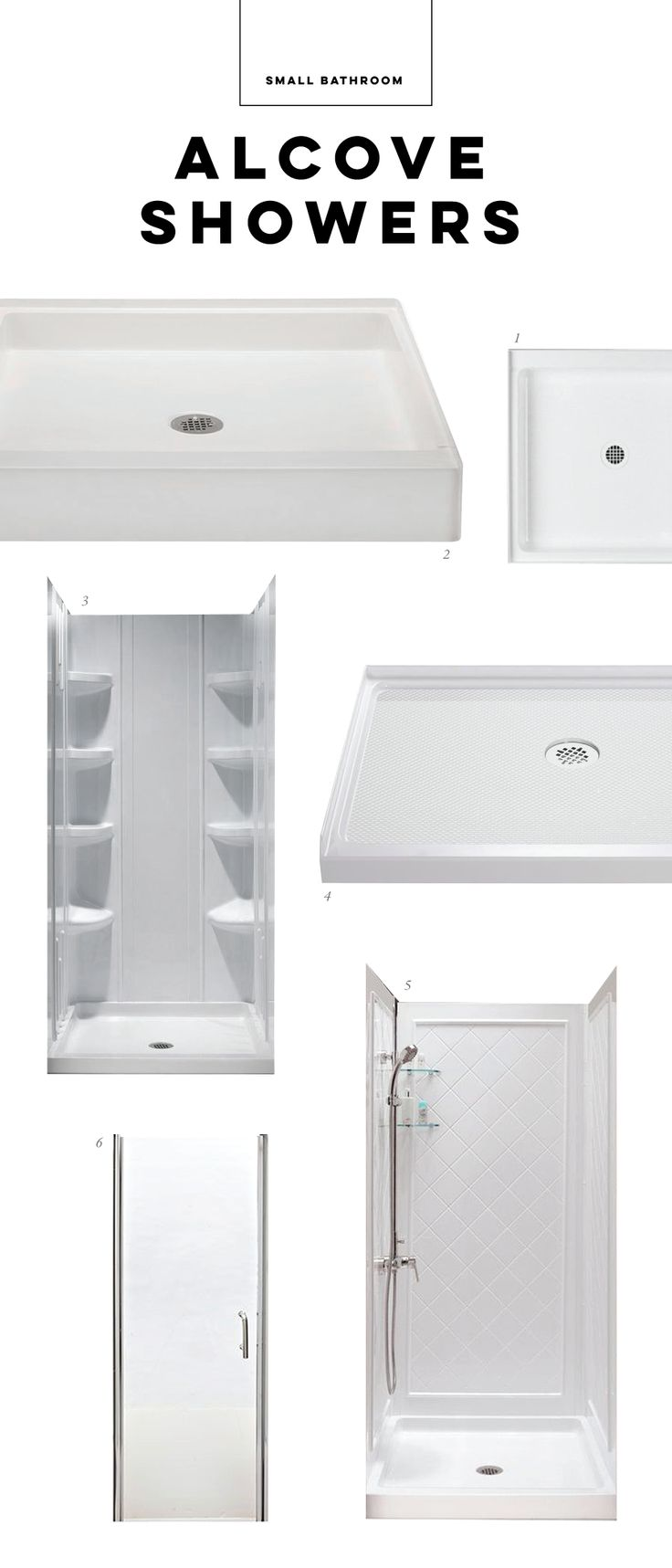 10 Best Small Bath Alcove Showers Images On Pinterest