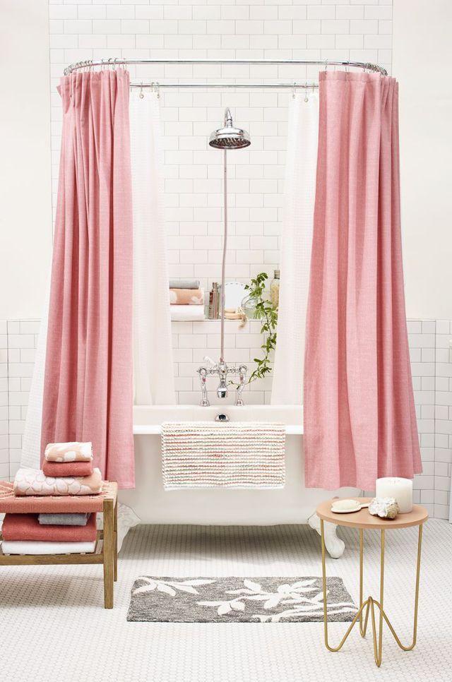 Salle de bains girly !