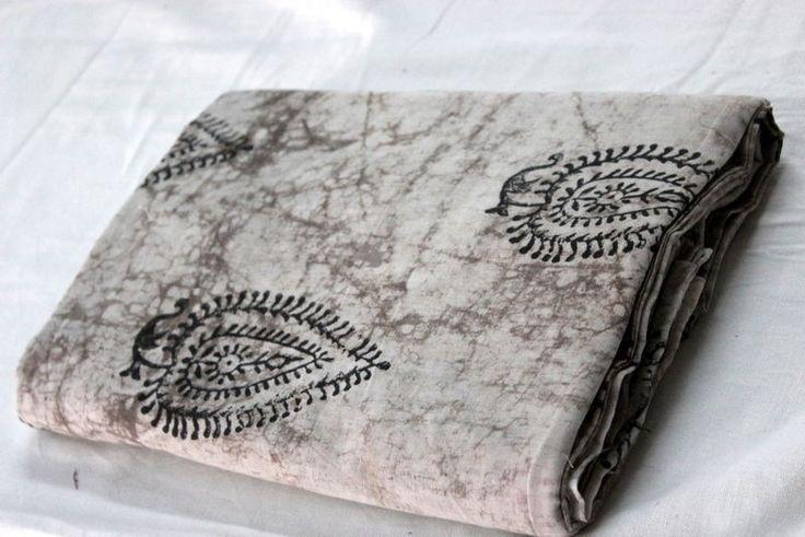 1 Yards Indian Fabric Cotton Handmade Hand Block print Fabric handmade indian -) #Handmade