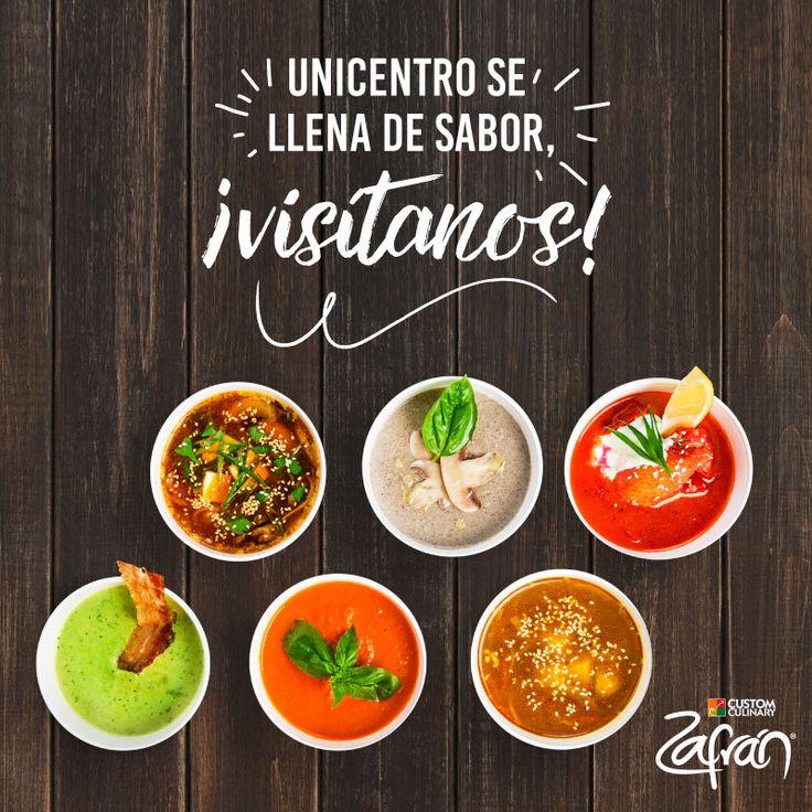 Visítanos en el centro comercial Unicentro Medellín, para que degustes y compres todo el sabor de Zafrán®. Encuentra nuestro stand hasta el 4 de junio en el primer piso en la plazoleta central. ¡Te esperamos! #universozafran #productoszafran