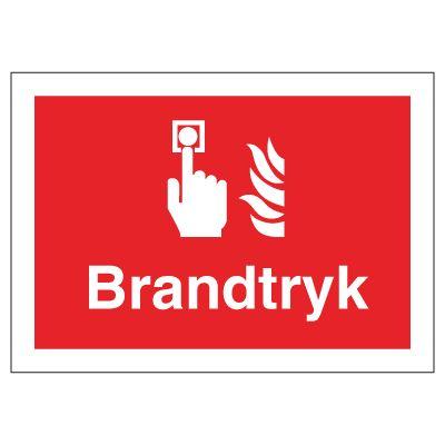 Brandtryk - Bestil Brandskilte hos online JO Safety.