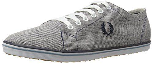 Fred Perry Kingston 2 Tone Canvas B8206608, Herren Sneaker - EU 41 - http://on-line-kaufen.de/fred-perry/41-eu-fred-perry-kingston-2-tone-canvas-b8206608